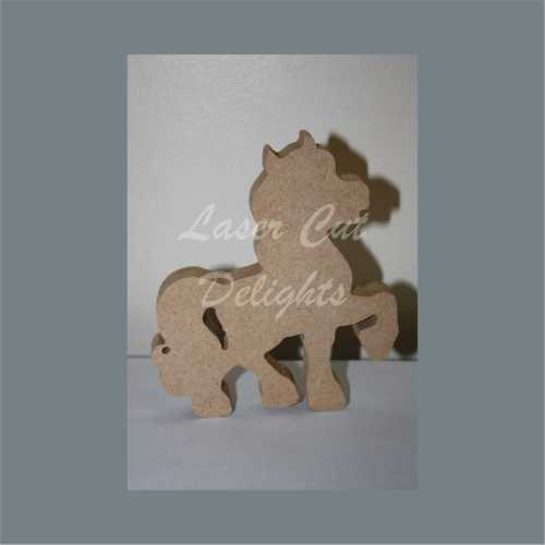 Horse or Unicorn Stepping 18mm