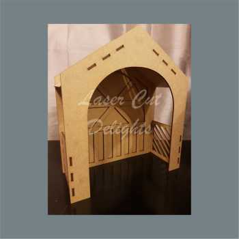 3D Fairy Porch or Christmas Stable 3mm 30cm