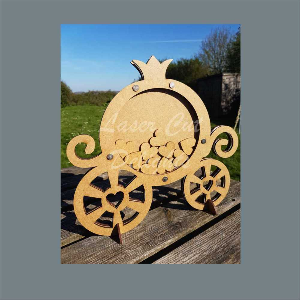 princess carriage drop box
