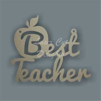 Best Teacher cut through apple 15cm