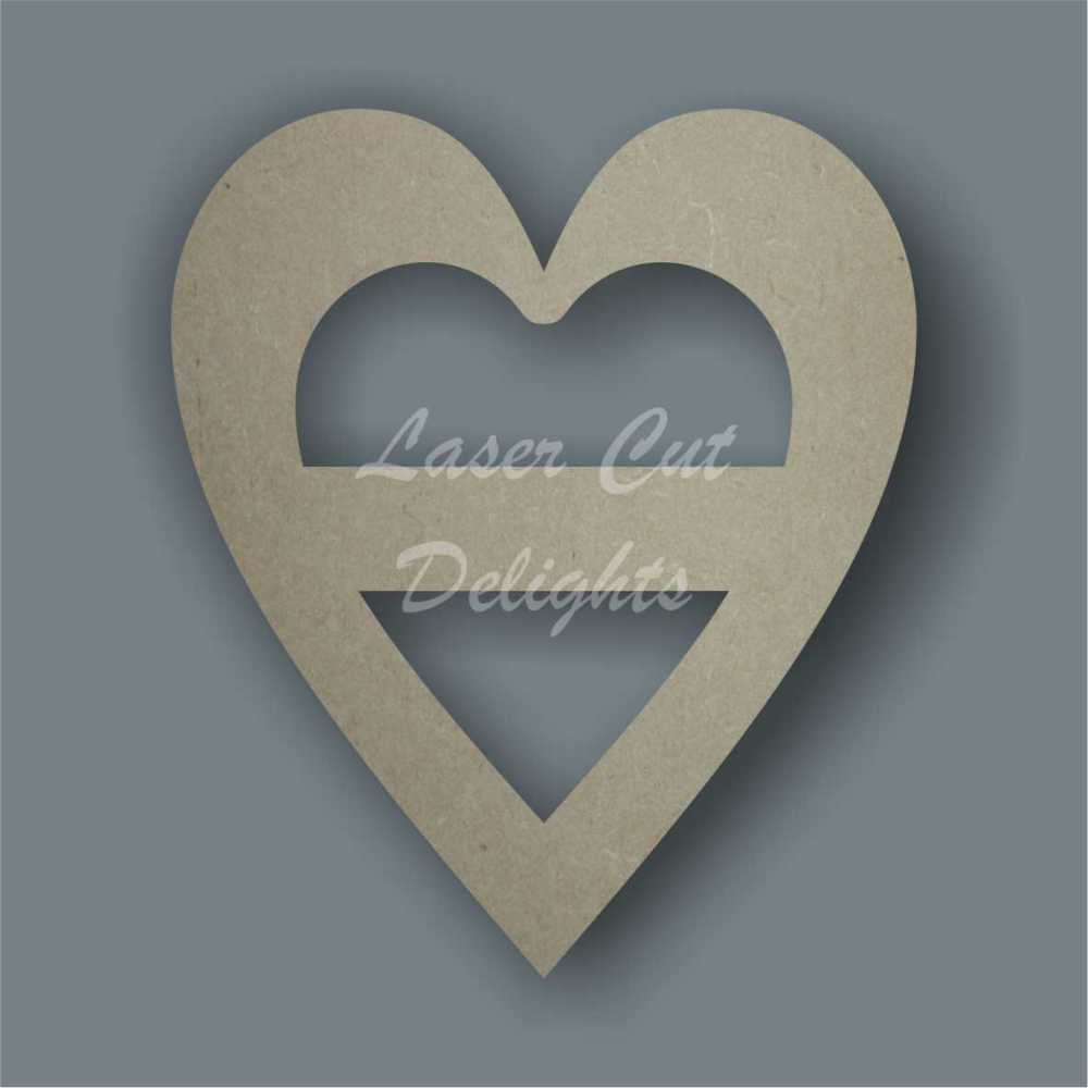 Heart Slider / Laser Cut Delights