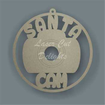 Bauble Santa Cam / Laser Cut Delights