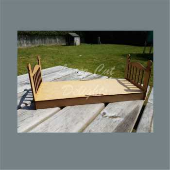 3D Elf Single Box Bed