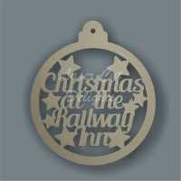 Bauble Hooped Personalised / Laser Cut Delights