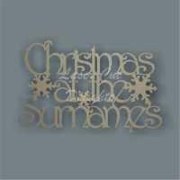Christmas at the 'surname' (Designer Font)