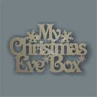 Christmas Eve Box Lid Topper NO FRAME / Laser Cut Delights