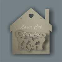 House 3D - Croeso i tŷ ni / Laser Cut Delights