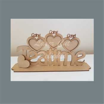 Multi Photo Frame 3 or 6mm / Laser Cut Delights