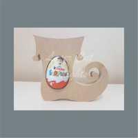 Chocolate Egg Holder 18mm - Elf Boot / Laser Cut Delights