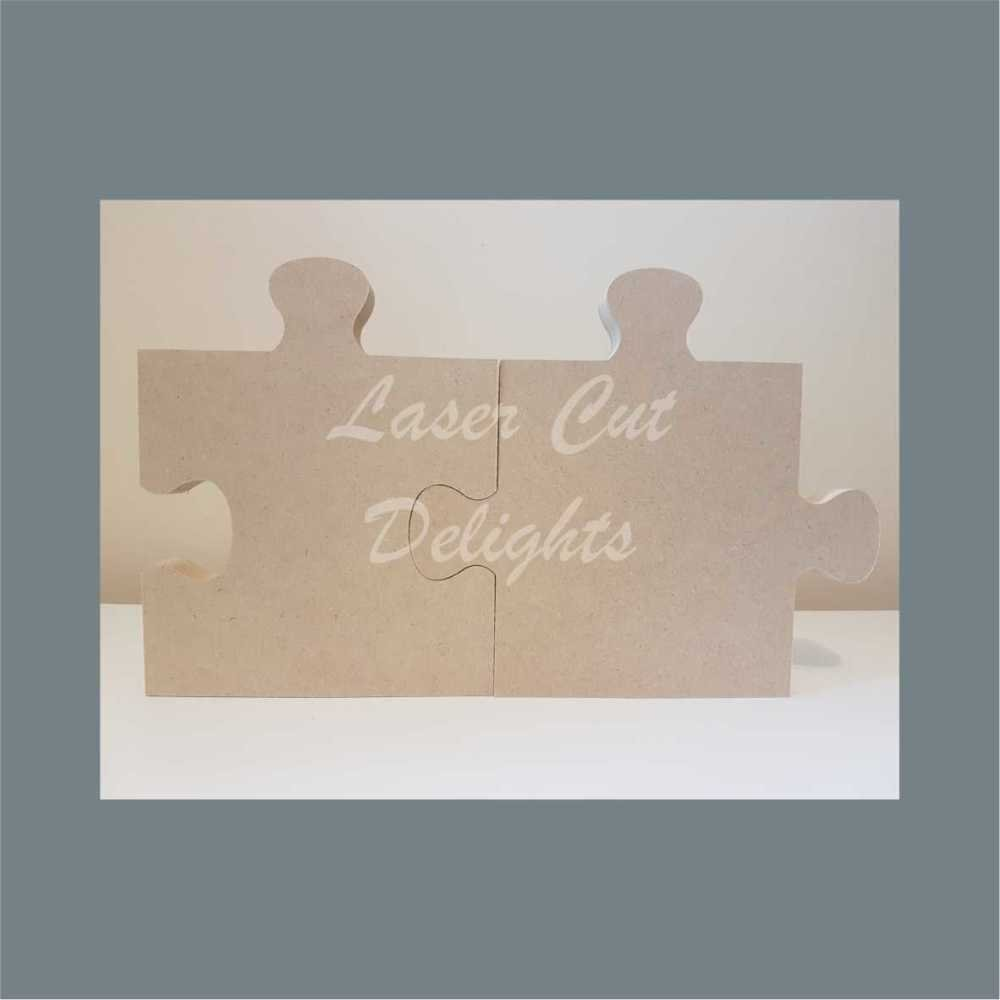 Linking JIGSAW PUZZLE Pieces 18mm / Laser Cut Delights