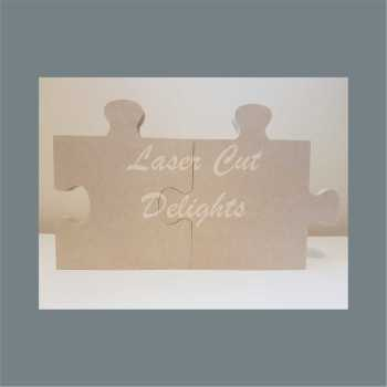 Freestanding Individual JIGSAW PUZZLE Pieces 18mm