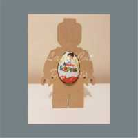 Chocolate Egg Holder 18mm - Lego Man / Laser Cut Delights