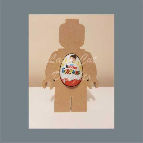 Chocolate Holder - Lego Man 18mm