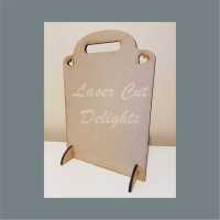 Chalkboard with handle 6mm 35x24cm
