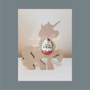 Chocolate Egg Holder 18mm - Unicorn / Laser Cut Delights