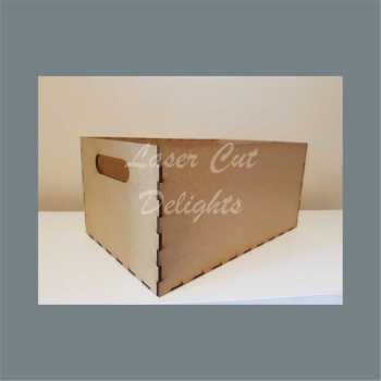 Crate Box with no lid