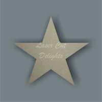 Star (standard) 6mm / Laser Cut Delights