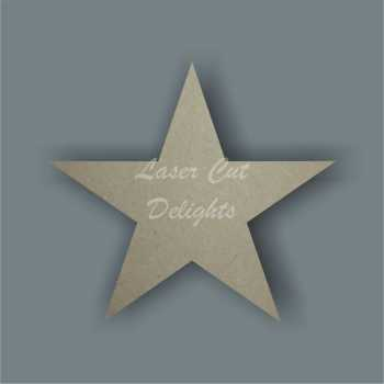 Star (standard) 6mm / Laser Cut Delights