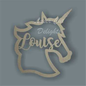 Name in a Unicorn / Laser Cut Delights