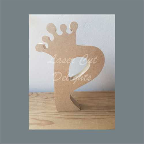 letters with crowns mdf