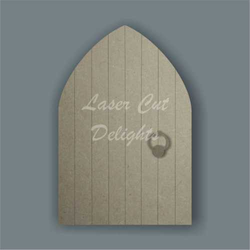 Fairy Elf Door with pointed top 3mm