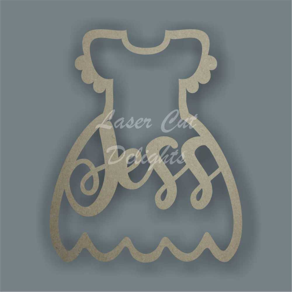 Name in a Dress / Laser Cut Delights