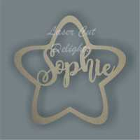 Name in a Star / Laser Cut Delights