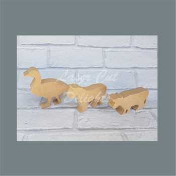 Farm Animals 18mm / Laser Cut Delights