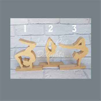 Gymnasts 18mm / Laser Cut Delights