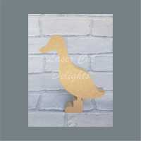 Duck in Boots 18mm Option 1 / Laser Cut Delights