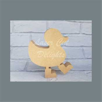 Duck in Boots 18mm Option 3 / Laser Cut Delights