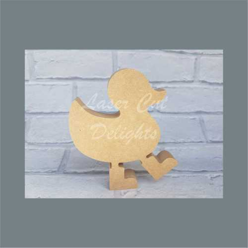 Duck in Boots 3 / Laser Cut Delights