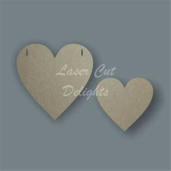 Double Layered Heart Bunting / Laser Cut Delights