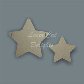 Double Layered Star Bunting / Laser Cut Delights