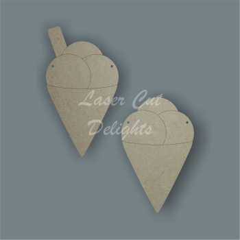 Ice Cream Cone Bunting / Laser Cut Delights