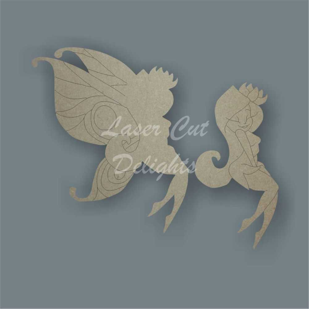 Flirty Fairy 3D / Laser Cut Delights