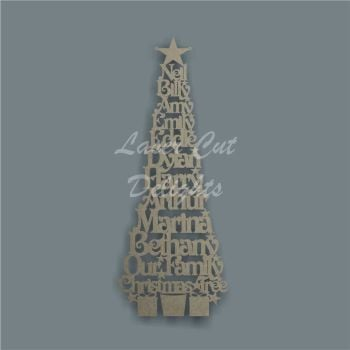 *Christmas Tree MYO 2 (Width) / Laser Cut Delights