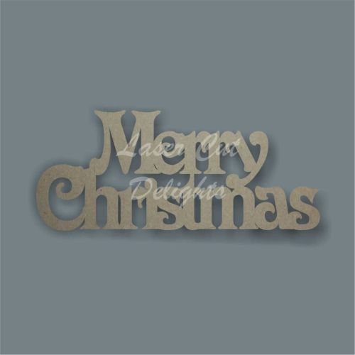 Merry Christmas (Victorian Font) / Laser Cut Delights