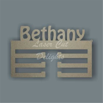 Medal Personalised Hanger / Laser Cut Delights