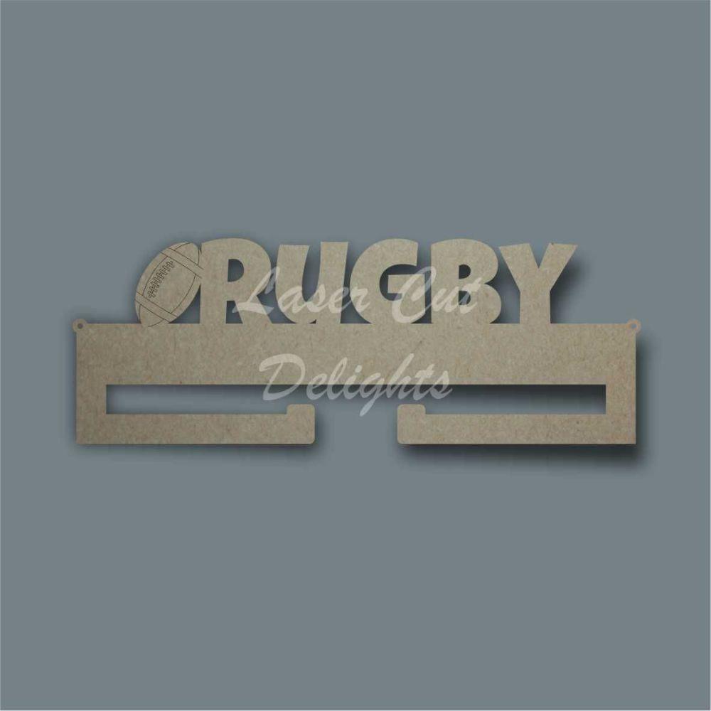 Medal RUGBY Hanger / Laser Cut Delights