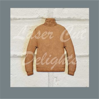 Jumper Bauble Basic Polo Neck / Laser Cut Delights