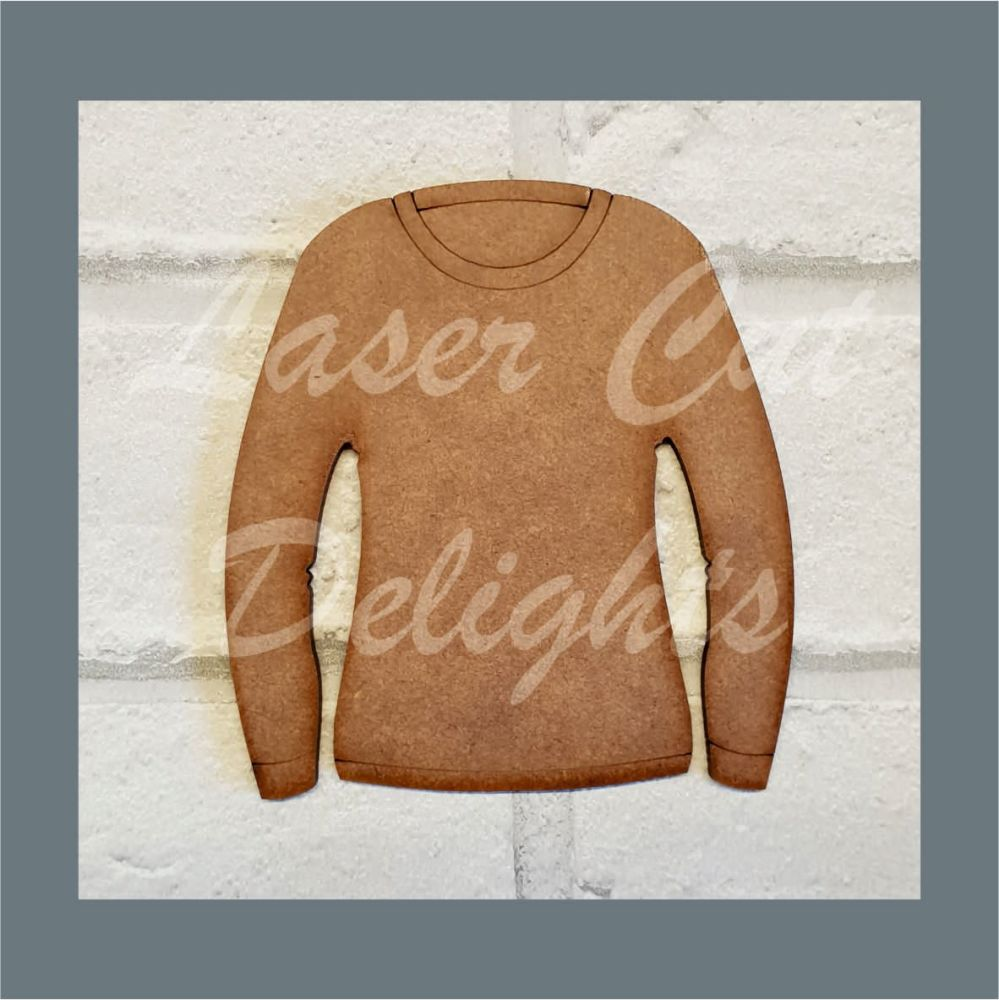 Jumper Bauble Basic Lady Mum / Laser Cut Delights