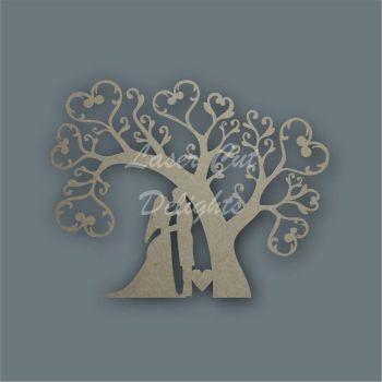 Tree Hearts Arch Wedding / Laser Cut Delights
