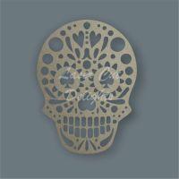 Sugar Skull SPADES Stencil / Laser Cut Delights