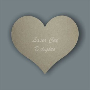 Heart (country) Packs of 2cm / Laser Cut Delights