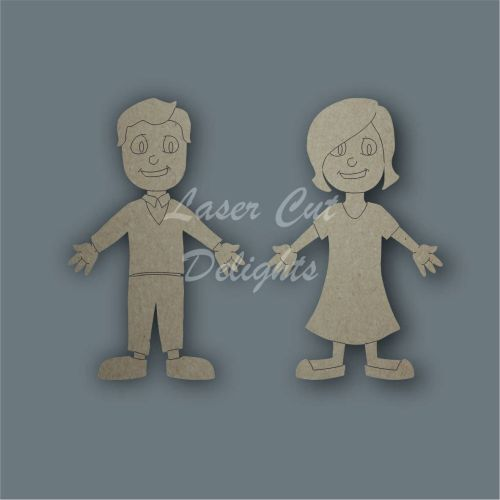 Family Members PARENTS / Laser Cut Delights