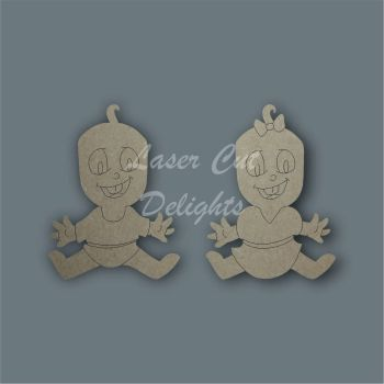 Family Character BABY / Laser Cut Delights