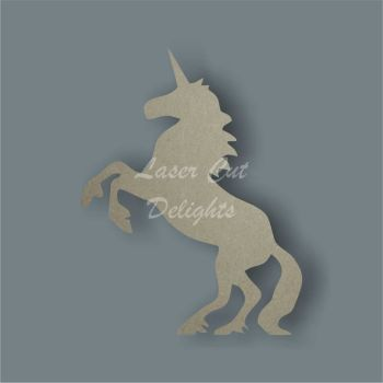 Unicorn On Back Feet 3mm / Laser Cut Delights