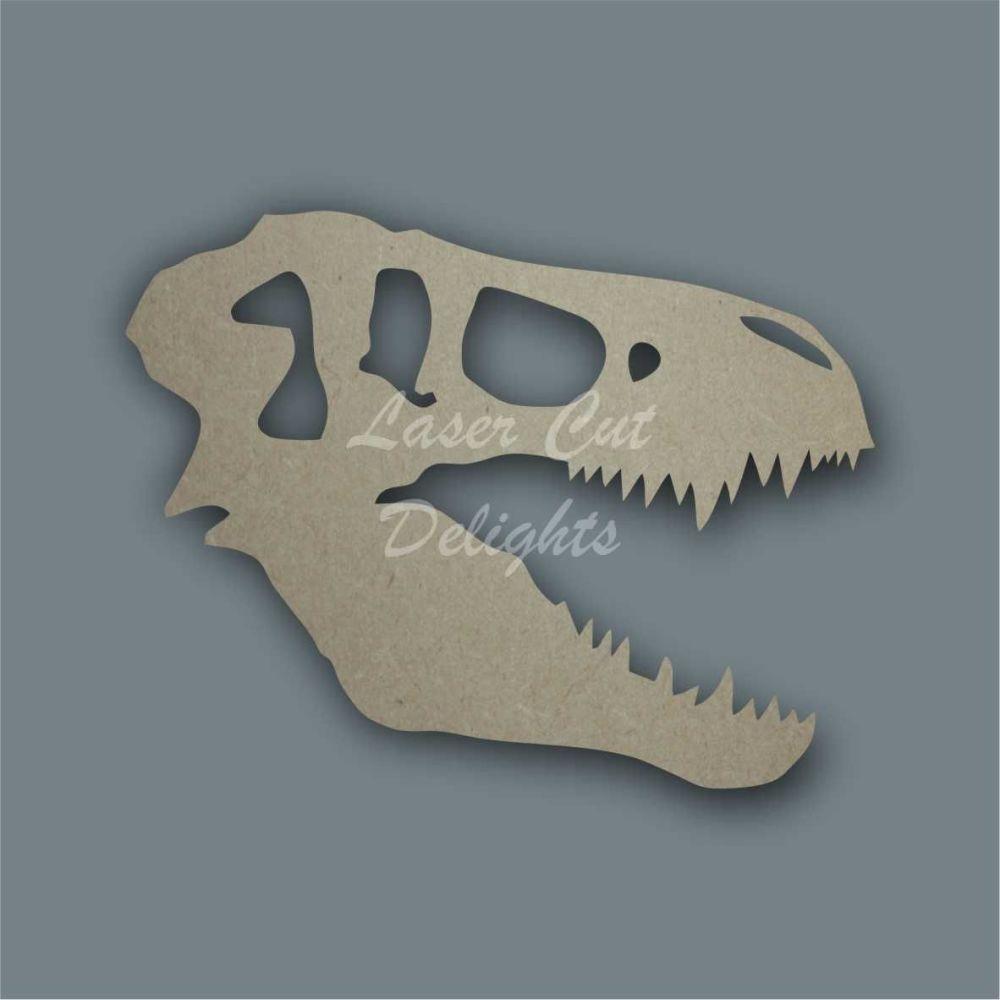 T-Rex Skull / Laser Cut Delights