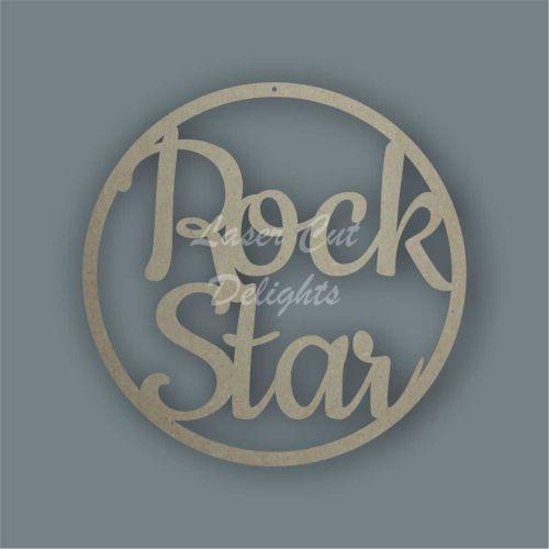 Dream Catcher - Rock Star / Laser Cut Delights